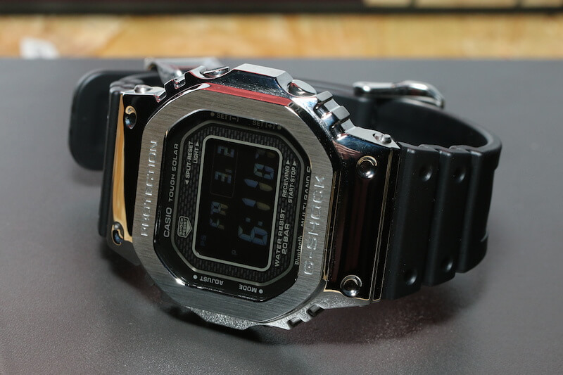 25bf0cd11ff G-Shock GMW-B5000-1 Stainless Steel with Resin Band (U.S.  GMWB5000 ...