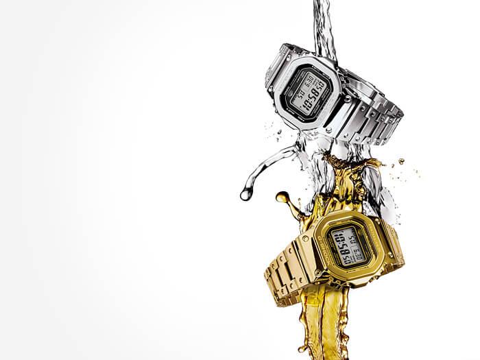 G-Shock Gold dan Silver