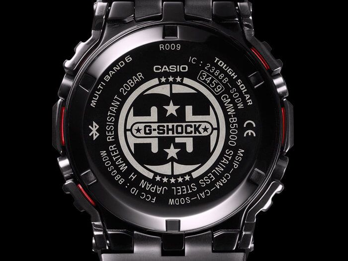 G-Shock GMW-B5000TFC-1 35th Anniversary Case Back