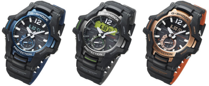 G-SHOCK GR-B100 GRAVITYMASTER GR-B100-1A2 GR-B100-1A3 GR-B100-1A4 with Bluetooth and Tough Solar