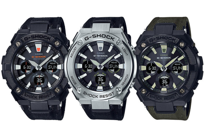 G-Shock G-STEEL GST-W130 with Tough Leather Band and Neon Illuminator GST-W130BC-1AJF GST-W130BC-1A3JF GST-W130C-1AJF