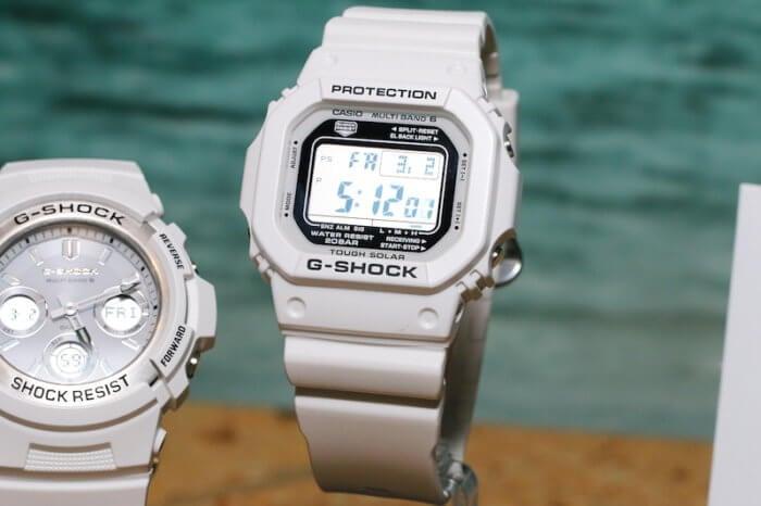 G-Shock GW-M5601MW-7 Marine White