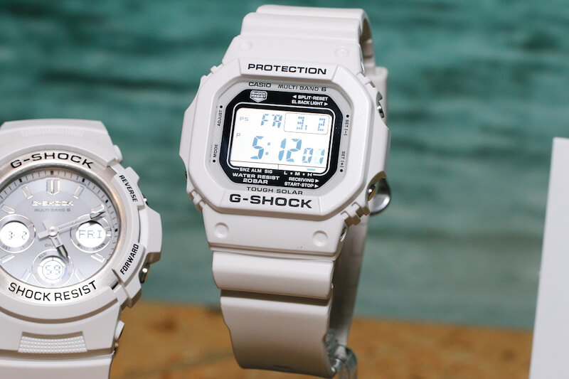 G-Shock Marine White Series For Spring and Summer – G ...