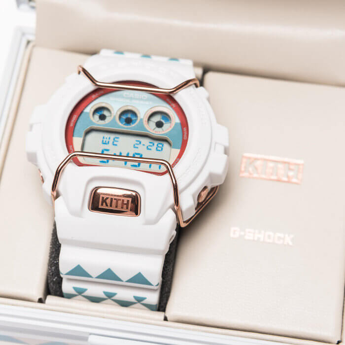 Kith x G-Shock DW-6900 'Sea Salt' Collaboration Watch