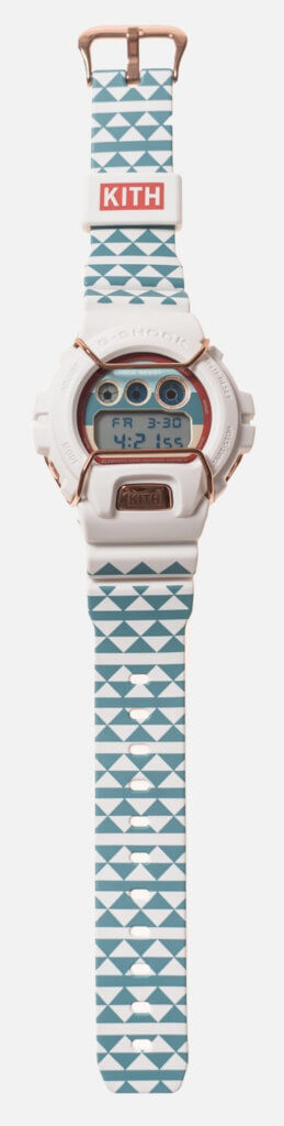 Kith x G-Shock DW-6900KTH-7 Sea Salt Bands