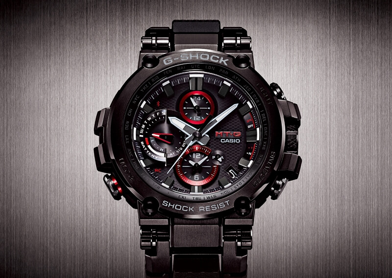 G-Shock MTG-B1000 with Bluetooth and Resin Band – G ...