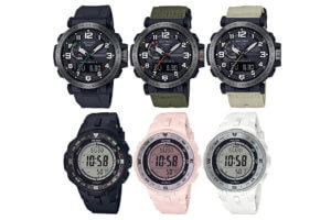 Casio Pro Trek PRG-330 and PRW-6600