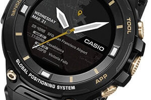 Casio Pro Trek WSD-F20SC Deluxe Limited Edition with Sapphire Crystal and Field Composite Band