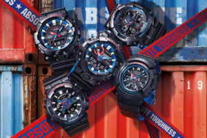 G-Shock Black and Tricolor LT Series