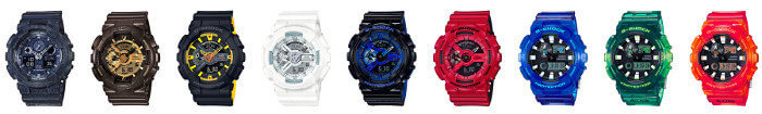 G-Shock Starter Pack Eligible Watches