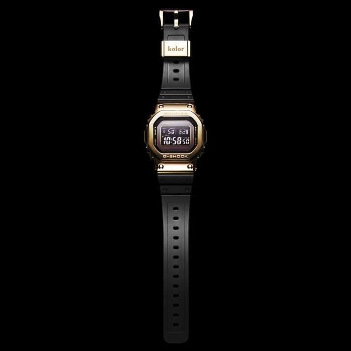 cea11504846 Kolor x G-Shock GMW-B5000KL-9 Limited Gold and Black – G-Central G ...
