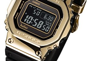 Kolor x G-Shock GMW-B5000KL Limited Edition Gold and Black