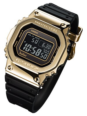 Kolor x G-Shock GMW-B5000KL-9 Limited Edition Gold and Black