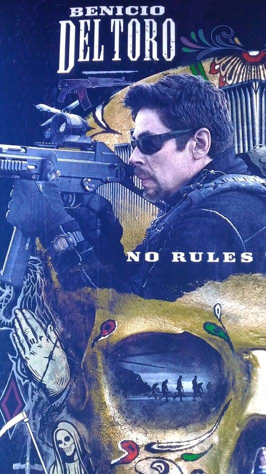 Benicio del Toro G-Shock DW-9052 in Sicario: Day of the Soldado