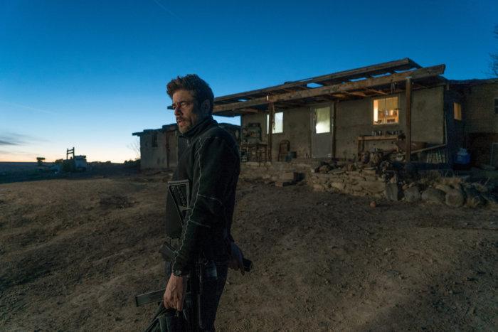Benicio del Toro in Sicario: Day of the Soldado with Casio G-Shock DW-9052