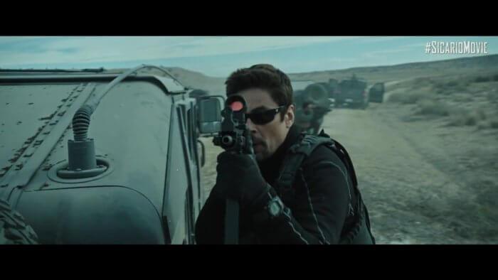 Benicio del Toro wears Casio G-Shock DW-9052 in Sicario: Day of the Soldado