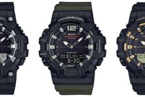Casio HDC-700 Analog-Digital Watch with 10-year Battery