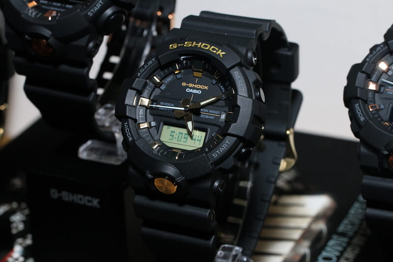 G-Shock GA-710B   GA-810B Gold Accents Collection – G-Central G ... e08cc75c5e5