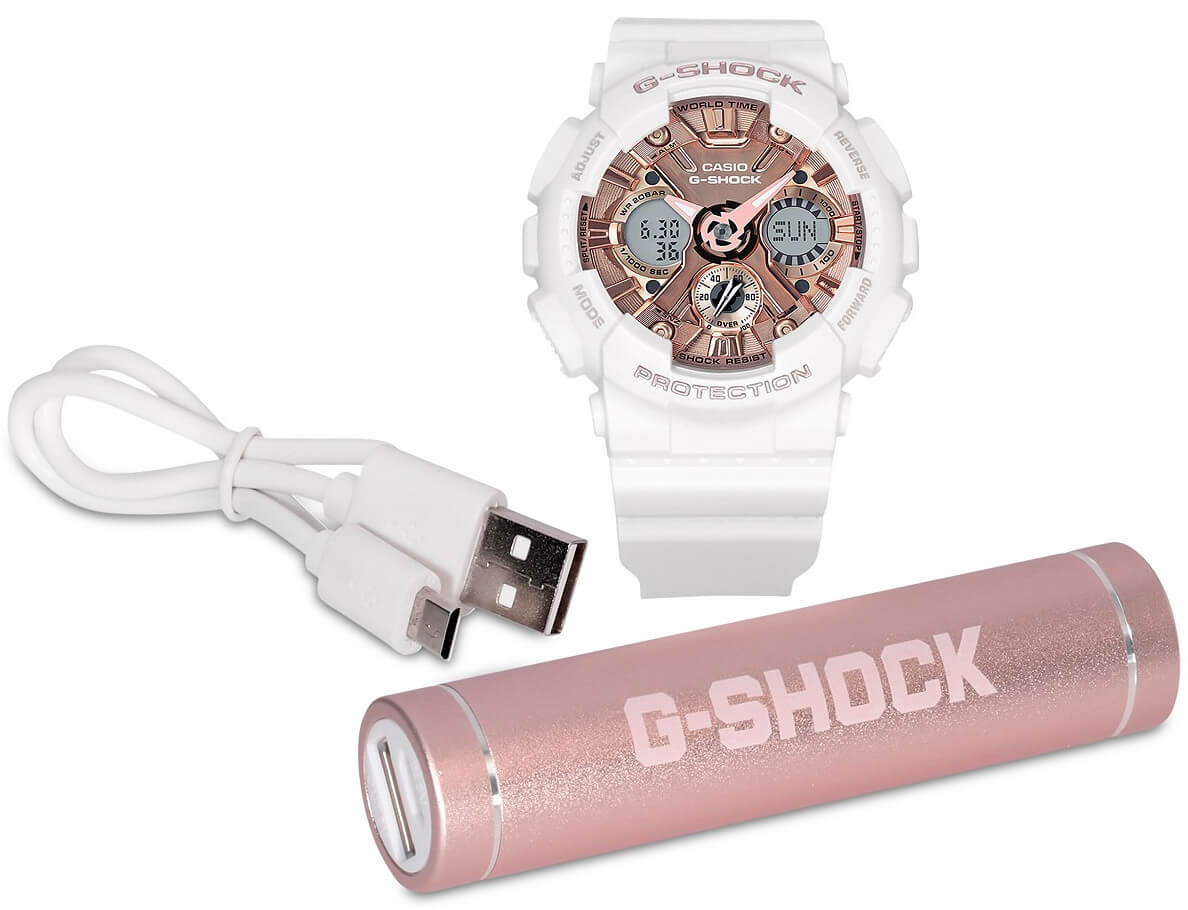 092ca81454af G-Shock GMAS120MF-7A2 with Charger Gift Set at Macy s – G-Central G ...