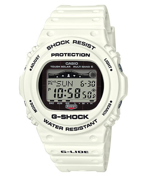 G-Shock GWX-5700CS-7 White