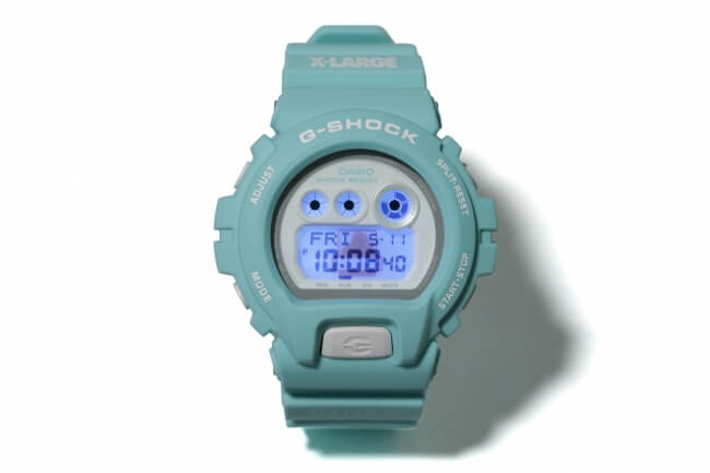 XLARGE x G-Shock GD-X6900 for 2018 Backlight
