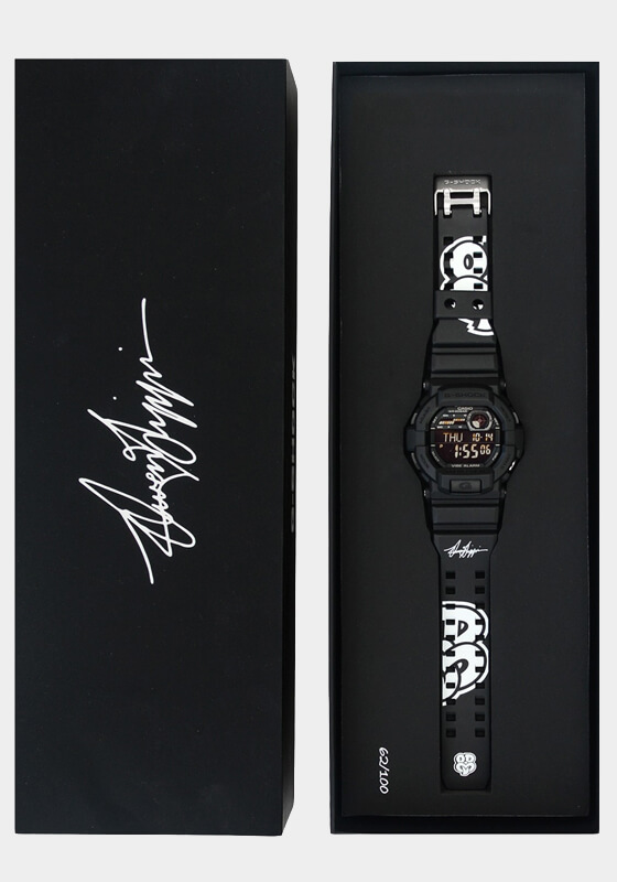 "G-Shock x Owen Dippie ""Tiki"" GD-350 Collaboration Watch"