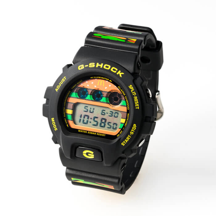 McDonald's x G-Shock DW-6900 Collaboration Watch