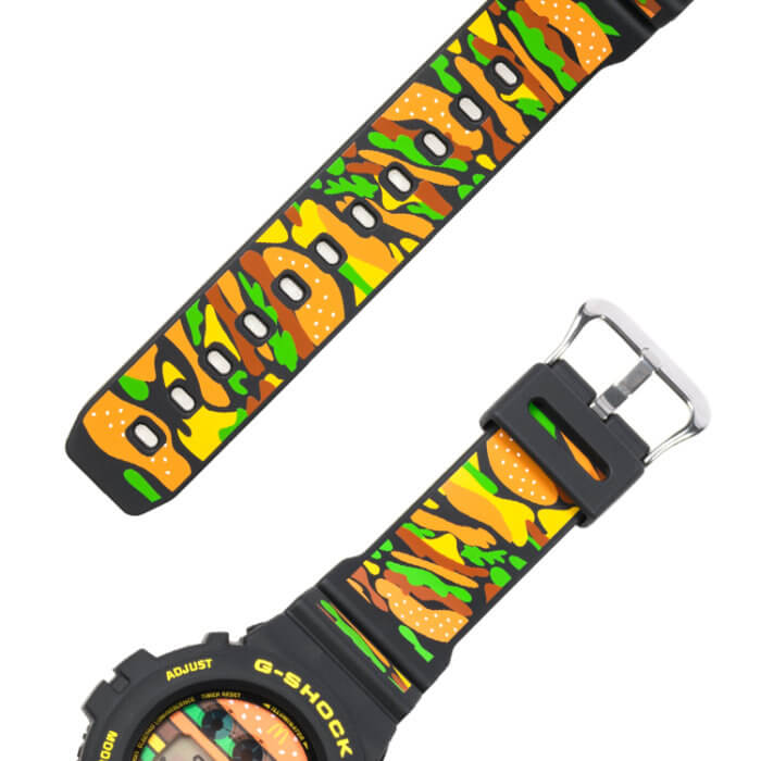 McDonald's x G-Shock DW-6900 Bands