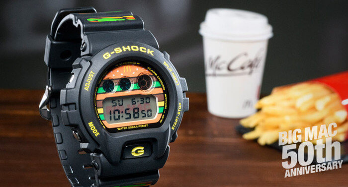 McDonald's x G-Shock DW-6900 Big Mac 50th Anniversary