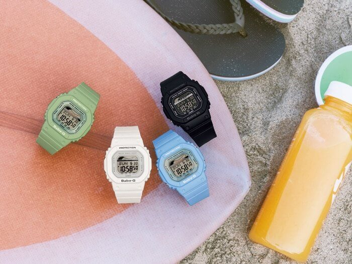 Casio Baby-G BLX-560 with Tide Graph