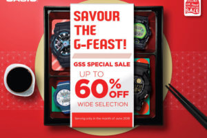 Casio G-Shock Great Singapore Sale 2018
