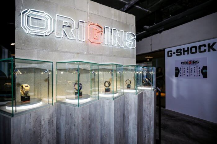 G-Shock Origins Exhibit in Singapore