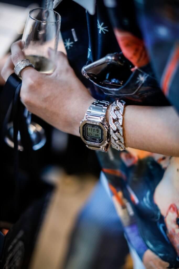 G-Shock GMW-B5000D-1 Wrist Shot