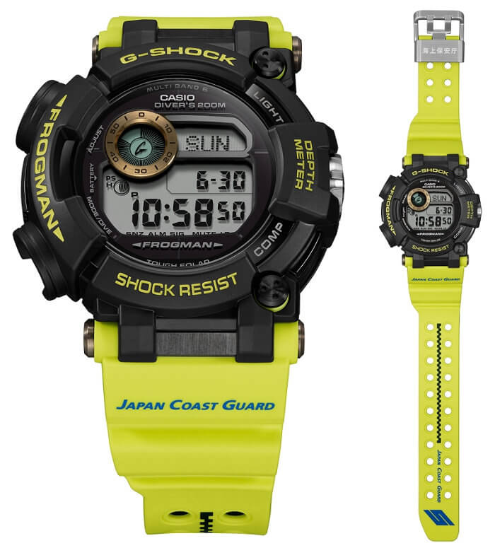 G-Shock GWF-D1000JCG-9JR Frogman Watch for Japan Coast Guard 70th Anniversary