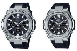 G-Shock G-STEEL GST-S130C-1A and GST-S330C-1A