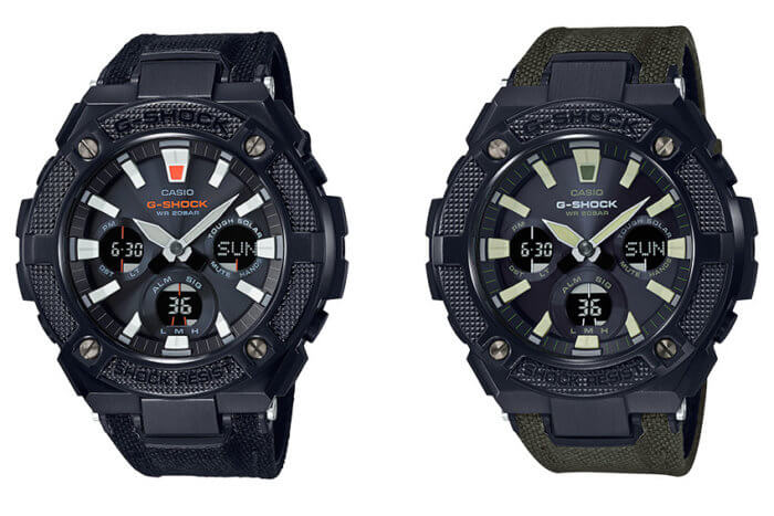 G-Shock G-STEEL GSTS130BC-1A & GSTS130BC-1A3