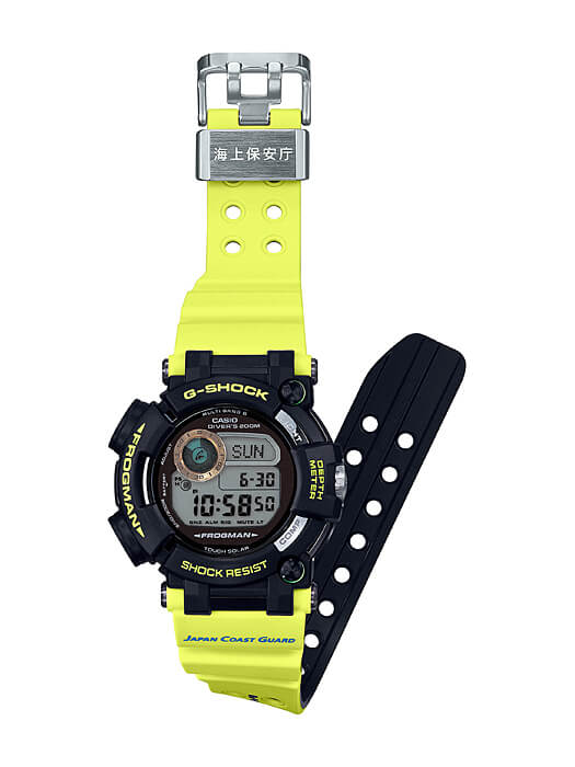G-Shock GWF-D1000JCG-9 Frogman Japan Coast Guard Band