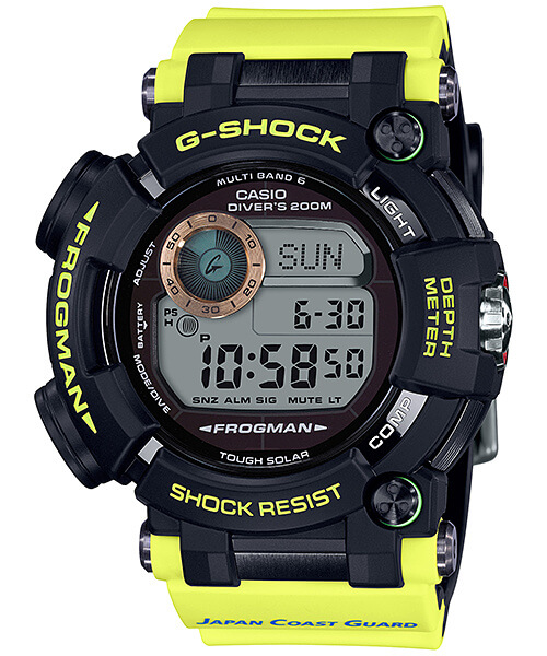 G-Shock GWF-D1000JCG-9 Frogman Japan Coast Guard