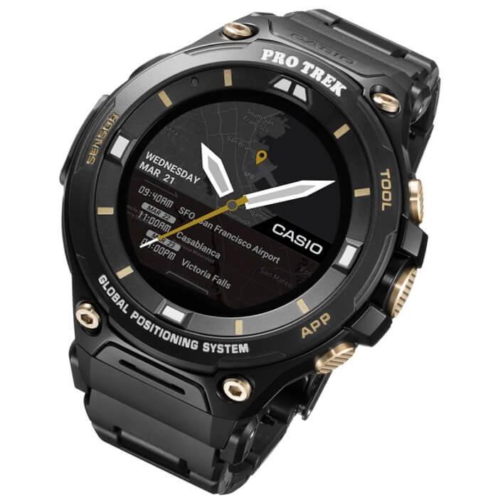 Pro Trek Smart WSD-F20SC Black & Gold with Composite Band