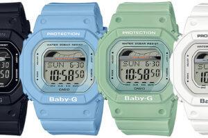Casio Baby-G BLX-560 Tide Graph BLX-560-1 BLX-560-2 BLX-560-3 BLX-560-7