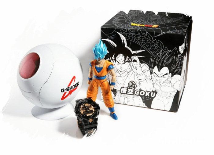 Dragon Ball Super x G-Shock Goku Watch and Case