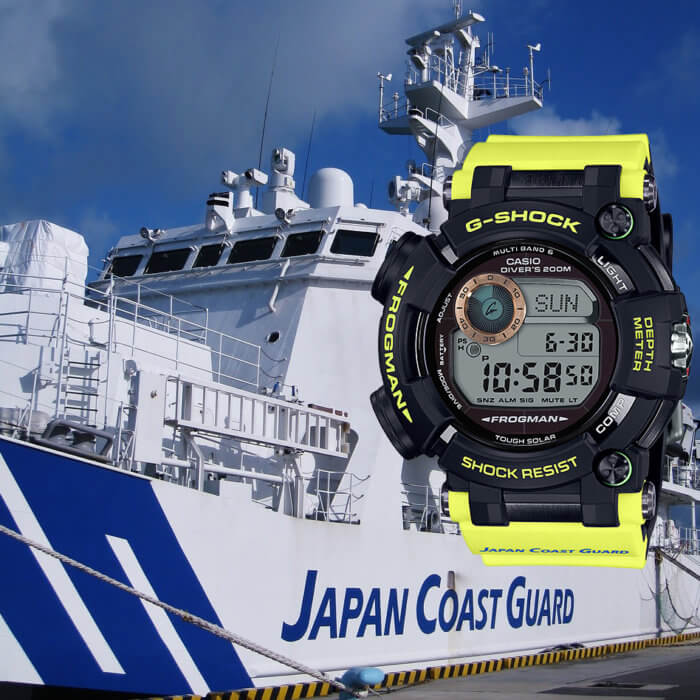 G-Shock GWF-D1000JCG-9JR Frogman Japan Coast Guard Edition