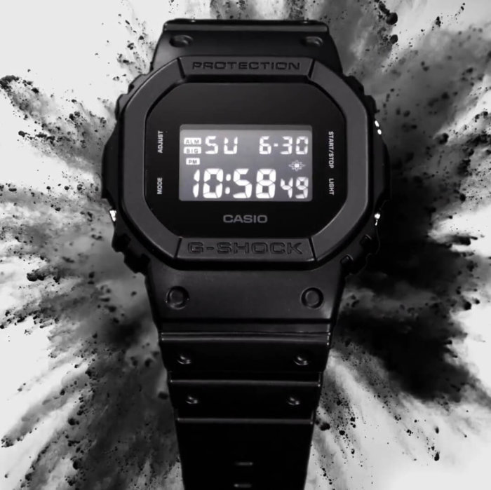 G-Shock DW-5600BB-1 Basic Black