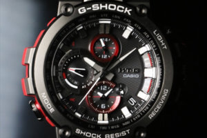 G-Shock MTG-B1000B-1A4JF MTG-B1000B-1A4 Black IP with Red Band