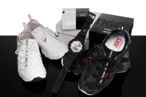 ASICSTIGER x G-Shock: GEL-MAI KNIT & G-SHOCK GBA-800