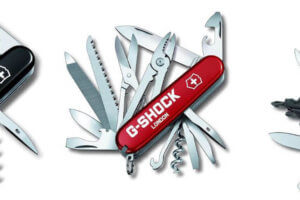 G-Shock London x Victorinox Swiss Army Knife at G-Shock London