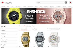 G-Shock GMWB5000D-1 and GMWB5000TFG-9 at Macys.com