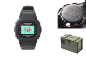 Madness x G-Shock DW-5000MD Case Back and Box