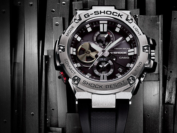 G-STEEL GSTB100-1A Most Affordable G-Shock with Tough Solar and Bluetooth