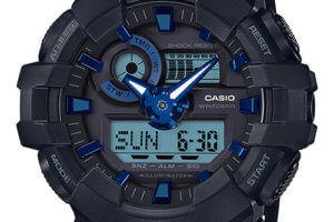 G-Shock GA-710B-1A2 Metallic Blue Accents